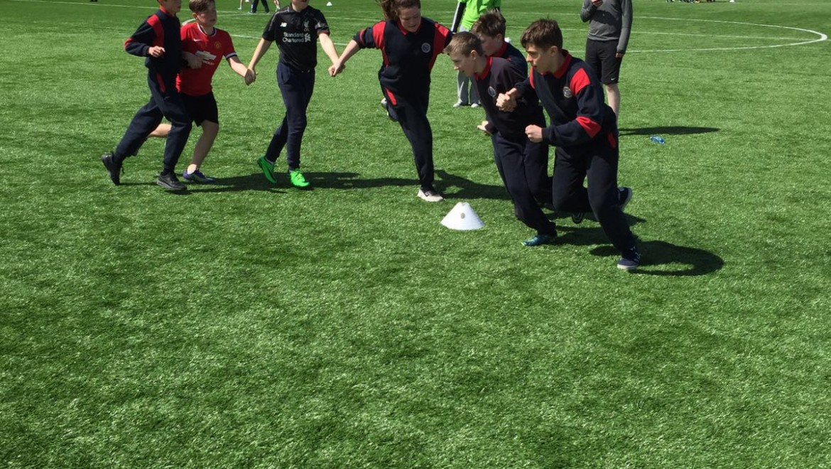 St. Philip's come 2nd in Dublin's Fittest Schools Competition