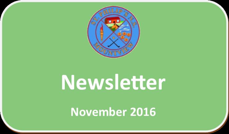 November '16 Newsletter
