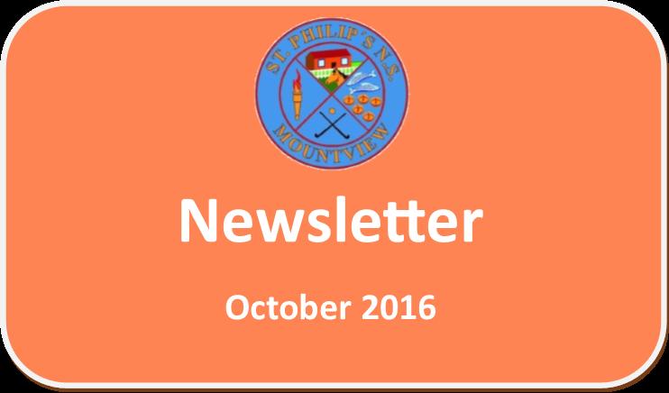 October '16 Newsletter
