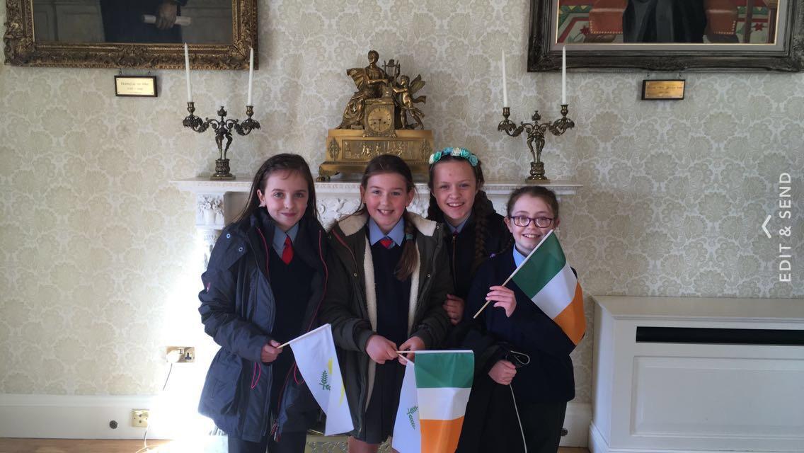 5th Class visit  Áras an Uachtaráin