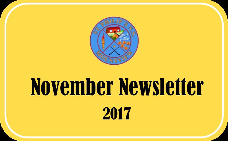 November Newletter