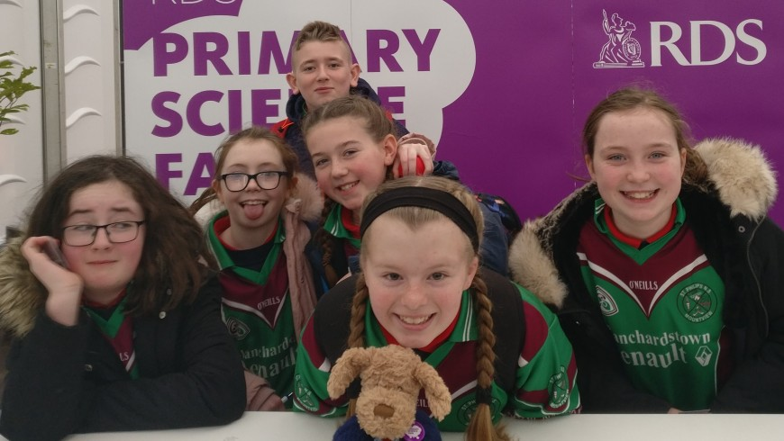 Philly Visits the BT Young Scientist Exhibition