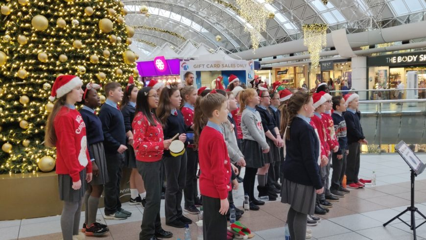 Carolling in the Centre