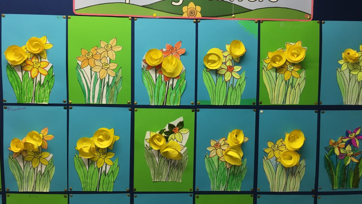 Stepping into Spring in 3rd Class