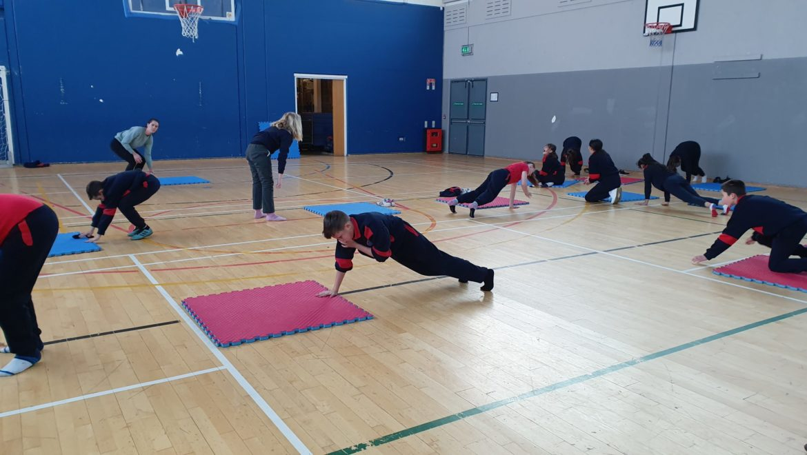 6th class Pilates with Fiona